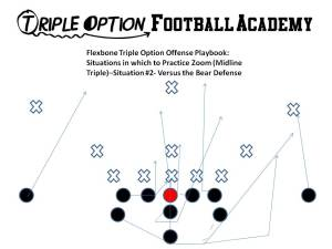 Zoom (Midline Triple Option) versus Bear