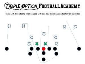 MIDLINE LEAD LEFT V STEM