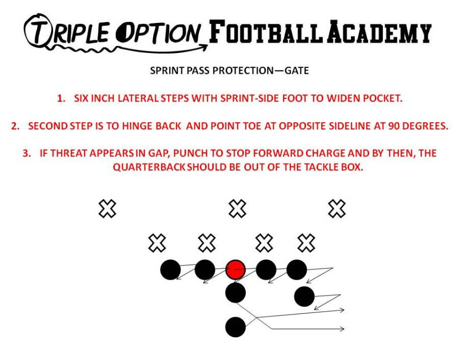 Gate Pass Protection (Triple Option Football Academy)