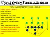 Working Triple Option Pass Protection versus 4-4 Stack
