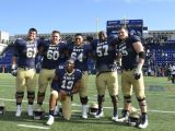 Navy's Small Offensive Line Creates Triple Option Success