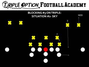 BLOCKING 3 ON TRIPLE- SKY