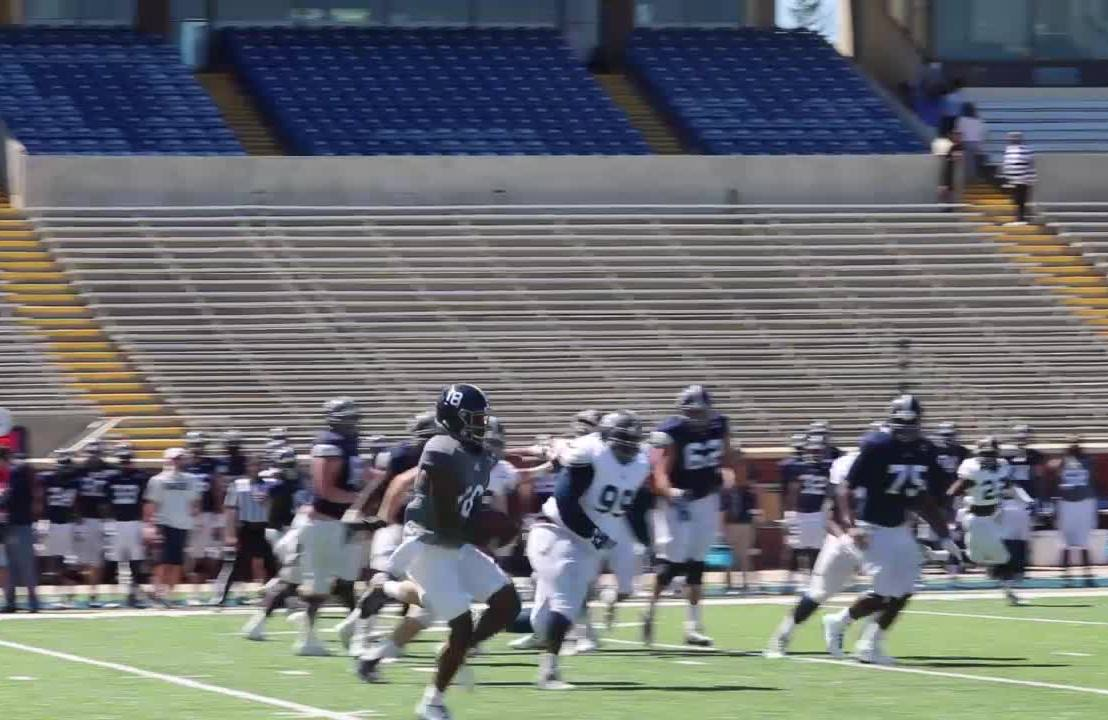 Georgia Southern Under-Center Triple Option Offensive LineDrills