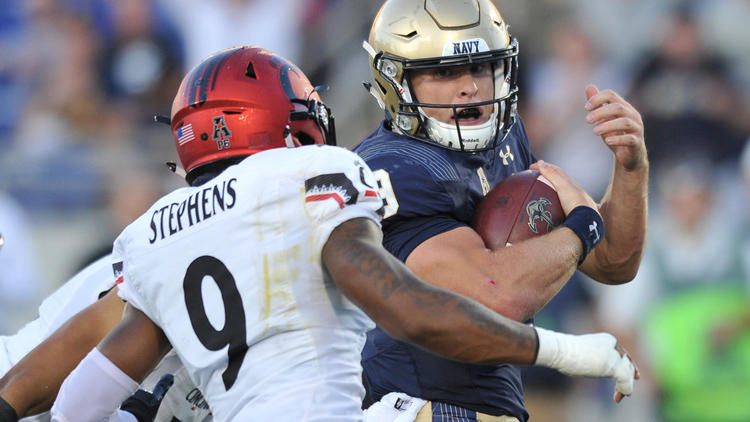 What Army, Navy, and Georgia Tech's Leading Rusher in 2017 All Have in Common